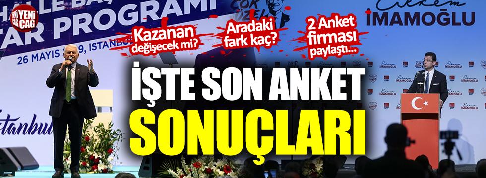 İstanbul seçimlerini kim kazanır, son anketler ne diyor?