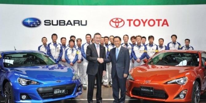 Toyota ve Subaru'dan iş birliği