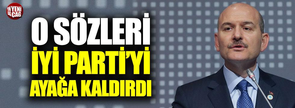 İYİ Parti'den Soylu'ya Akşener tepkisi