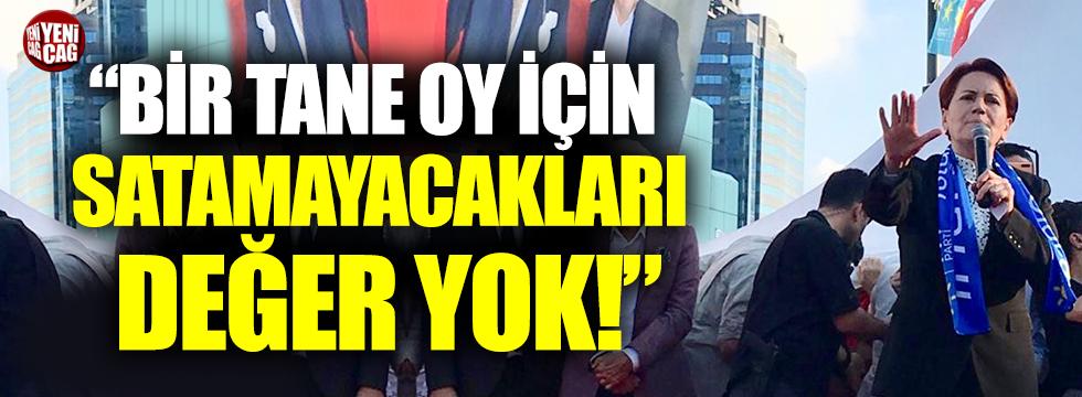 Akşener'den Yıldırım ve Erdoğan'a tepki