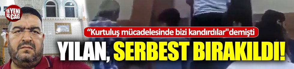 Atatürk'e hakaret eden imam serbest bırakıldı