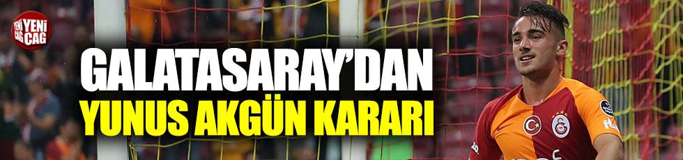 Galatasaray'dan Yunus Akgün kararı