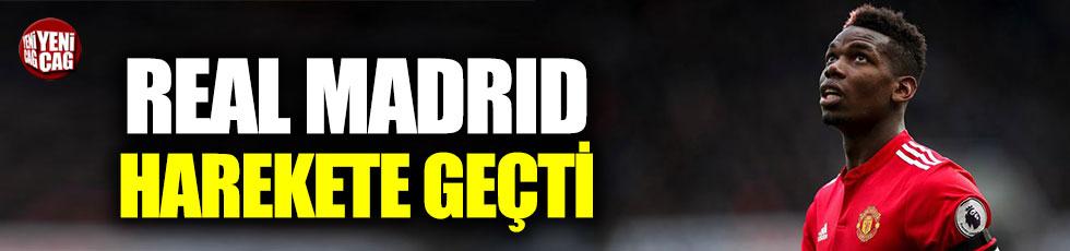 Real Madrid Pogba için harekete geçti
