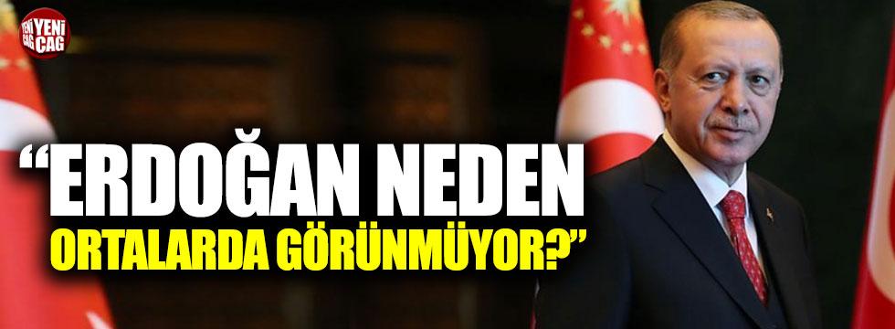 """""""Erdoğan, 23 Haziran seçimi için kamuoyu karşısına çıkmıyor"""""""