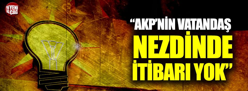 """Karamollaoğlu: """"AKP'nin vatandaş nezdinde itibarı yok"""""""