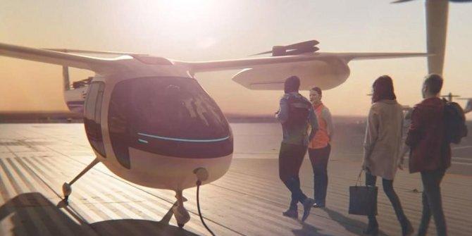 UBER uçan taksi servisi için geri sayıma geçti