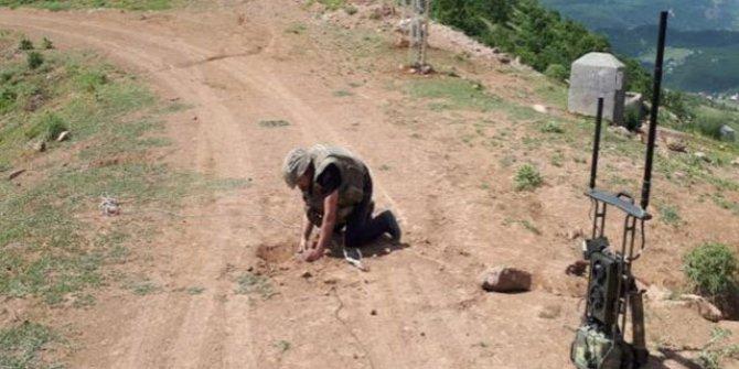 Bingöl'de 50 kiloluk patlayıcı imha edildi