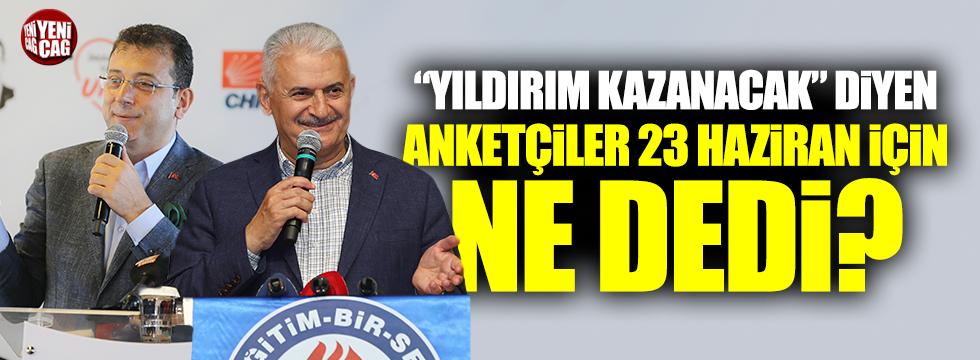 İstanbul'da son anket sonuçları, İmamoğlu önde