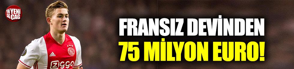 PSG'den de Ligt için 75 milyon euro