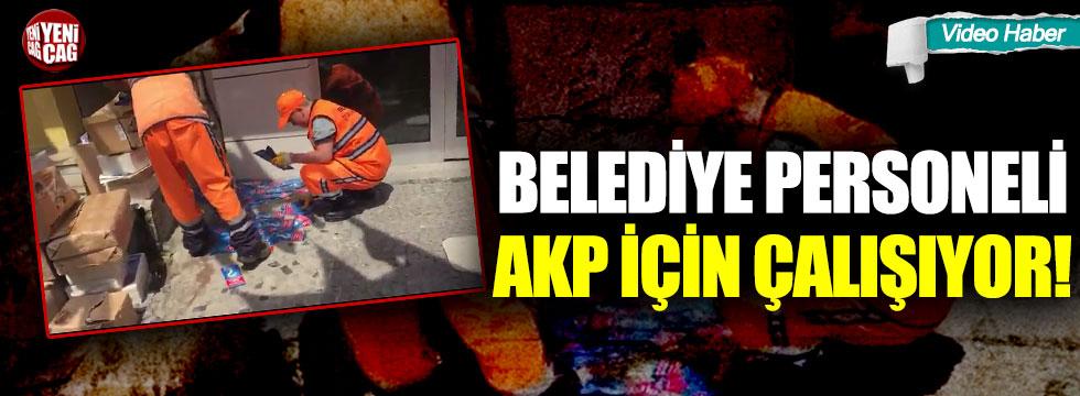 İstanbul'da belediye personeli AKP için çalışıyor