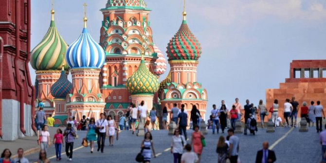 Moskova'da 'Türkiye Festivali' coşkusu