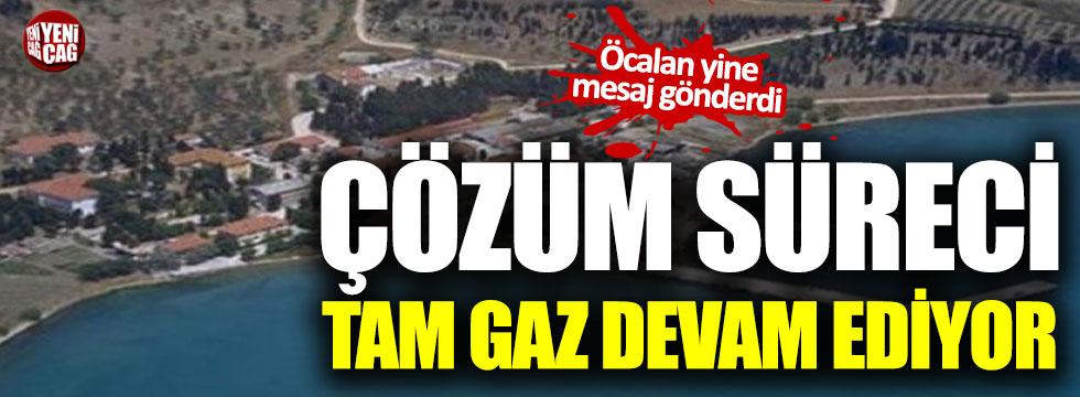 Öcalan'dan yeni mesaj
