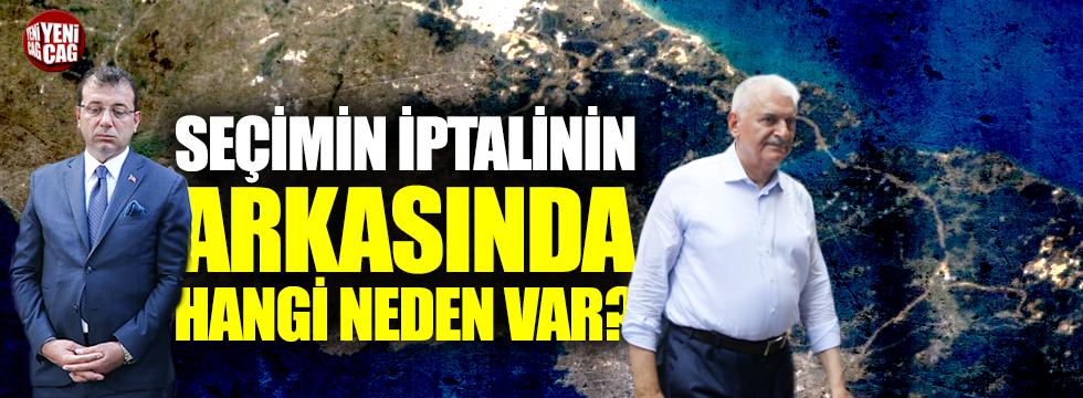 """""""İstanbul seçimi Kanal İstanbul için iptal edildi!"""""""