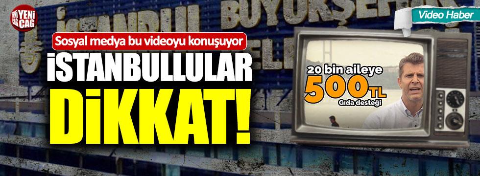 """""""Ya israf düzeni kazanacak ya İstanbul kazanacak"""""""