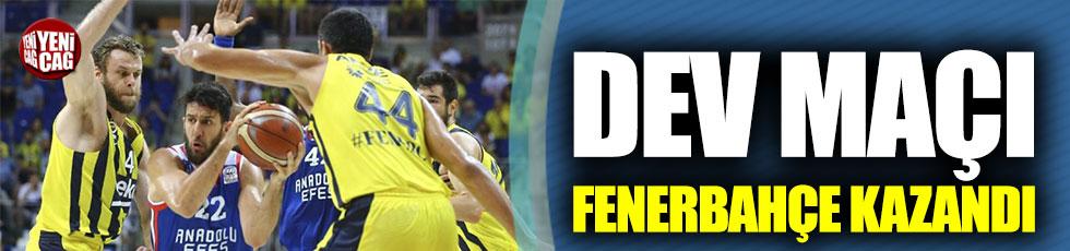 Fenerbahçe finalde eşitliği yakaladı