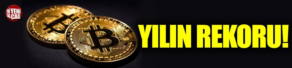 Bitcoin'den yılın rekoru