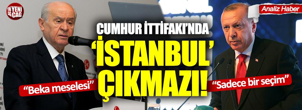Erdoğan ve Bahçeli'den çelişkili 'beka' açıklamaları