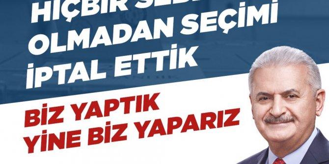 Sosyal medyada AKP'ye karşı 'Siz yaptınız' kampanyası