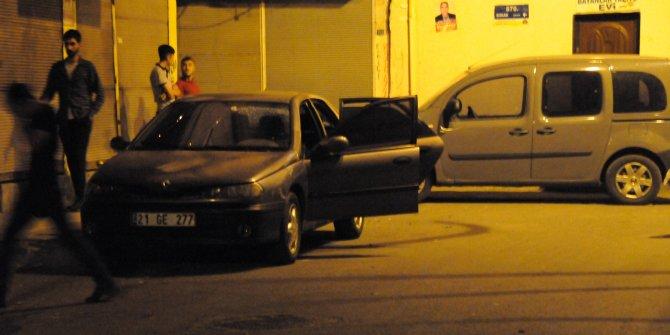 Diyarbakır'da otopark görevlisine ateş açıldı
