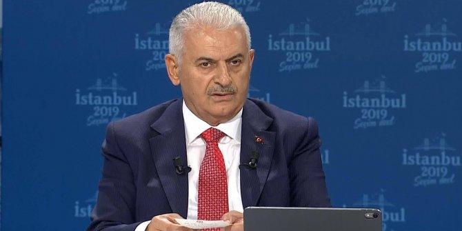 Yıldırım Türkçe Olimpiyatları'nda konuşmuş
