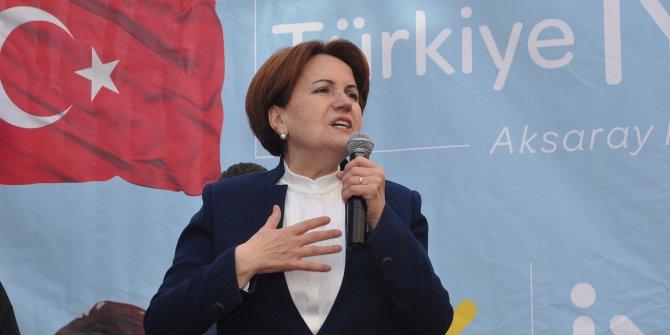 Akşener, Halk TV'nin canlı yayın konuğu