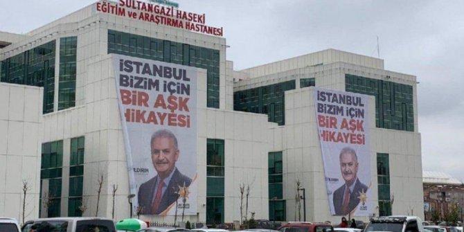 Erdoğan 6 ay önce açılan hastaneyi yeniden açtı