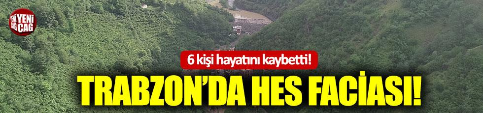 Trabzon'da HES faciası
