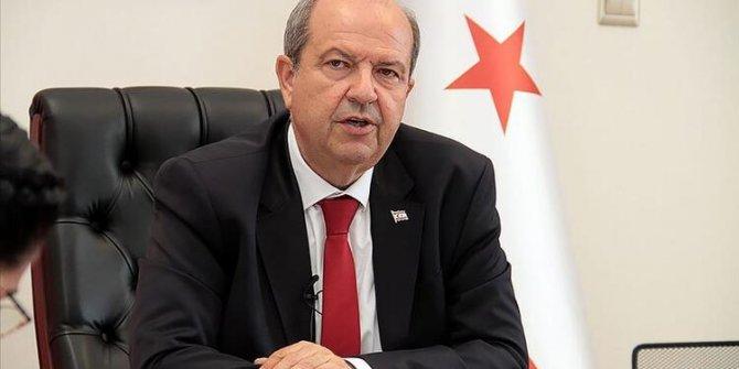 """KKTC Başbakanı Tatar'dan """"Kapalı Maraş"""" açıklaması"""