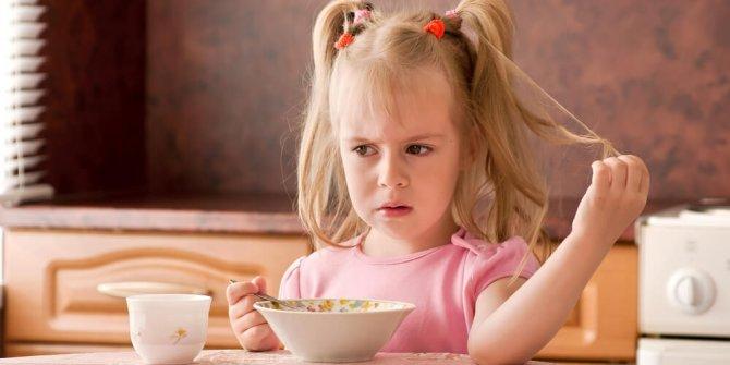Çocuklarda iştahsızlığın çözümü: 3 gün 3 kaşık
