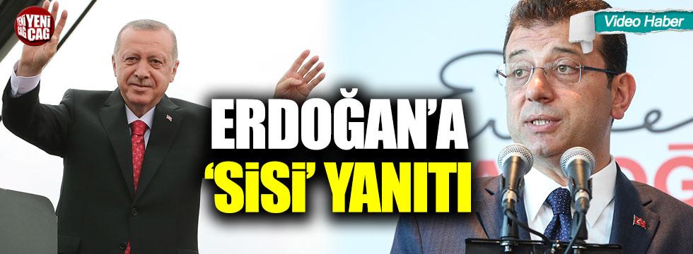 İmamoğlu'ndan Erdoğan'a Sisi yanıtı