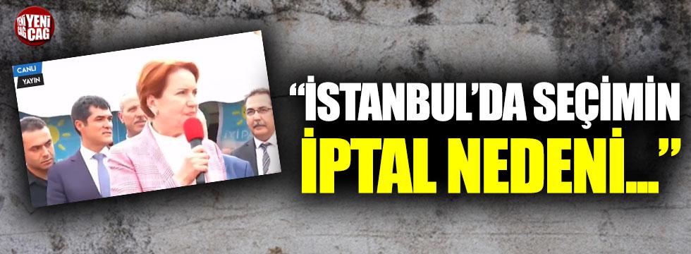 Akşener Bakırköy'de konuştu