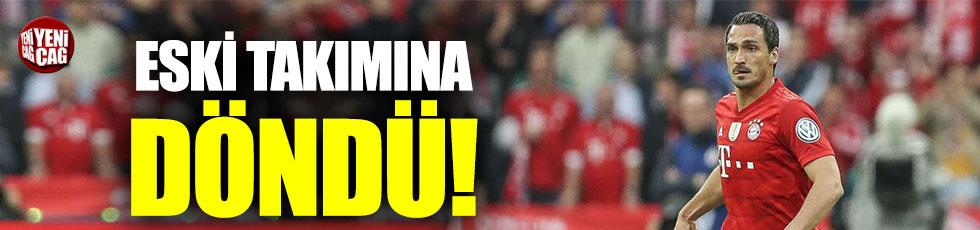 Hummels, Borussia Dortmund'a döndü