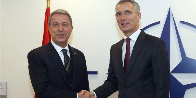 Akar ile NATO Genel Sekreteri Stoltenberg görüştü