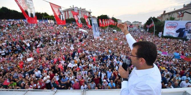 """İmamoğlu'ndan Erdoğan'a: """"Kiminle yarışıyorum?"""""""