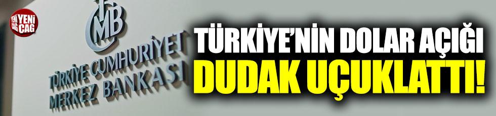 Türkiye'nin dolar açığı dudak uçuklattı!
