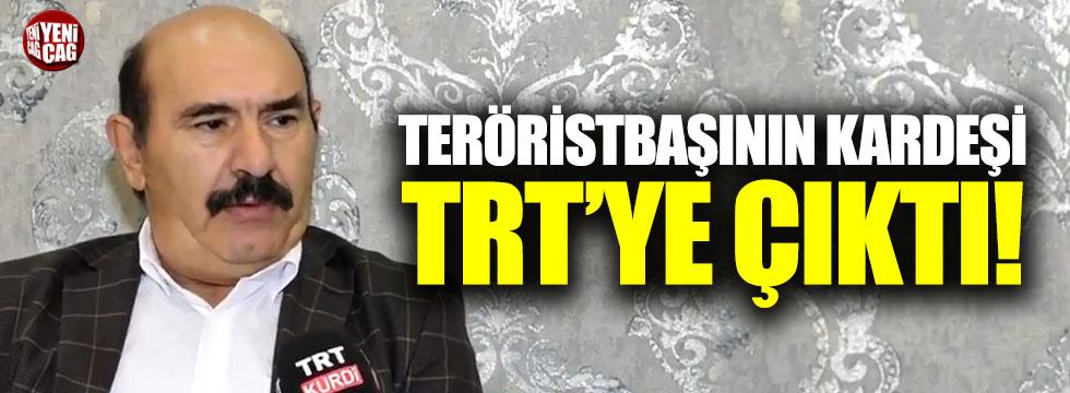 Teröristbaşı Öcalan'ın kardeşi TRT'ye çıktı!