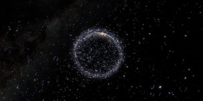 Uzayda 10 milyon parça çöp bulunuyor