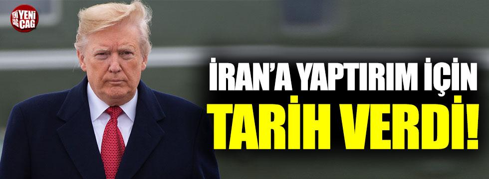 ABD Başkanı Trump'tan İran'a yaptırım açıklaması