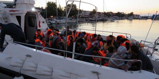 Çanakkale'de 41 kaçak göçmen yakalandı