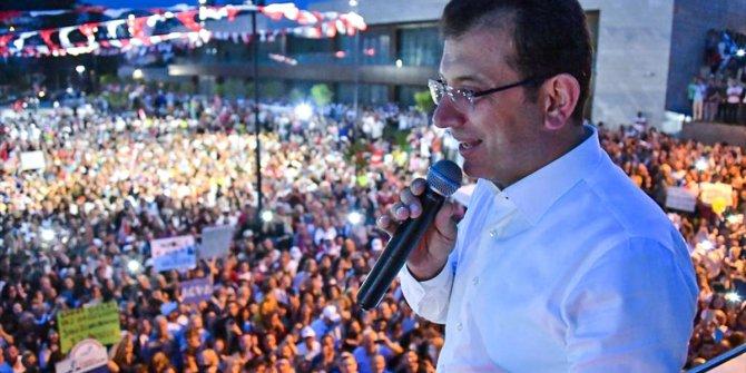 """İmamoğlu: """"Atatürk Cumhuriyetinin projesiyim"""""""