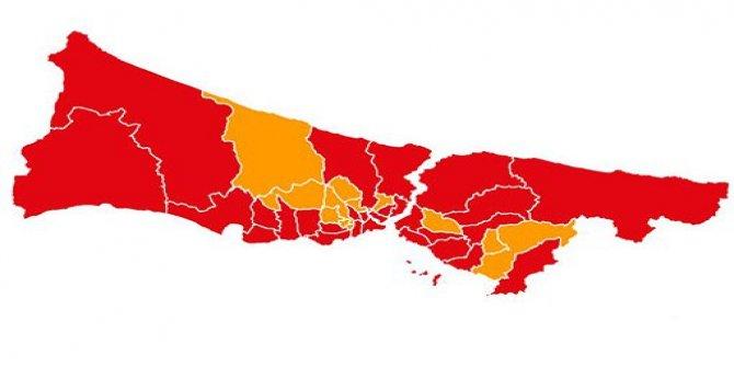 İstanbul'da ilçe ilçe seçim sonuçları