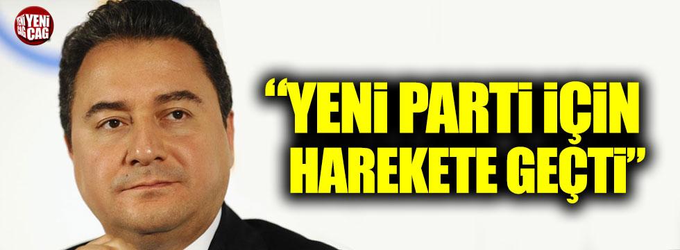"""Zeyrek: """"Ali Babacan yeni parti için harekete geçti"""""""