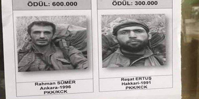 Bin 700 Mehmetçik bu iki teröristin peşinde