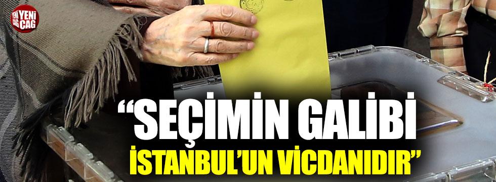 """Faik Öztrak: """"Bu seçimin galibi İstanbul'un vicdanıdır"""""""