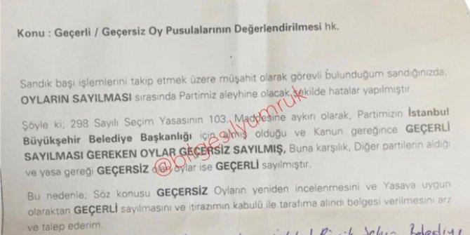 AKP'nin itiraza hazırlandığı ortaya çıktı!