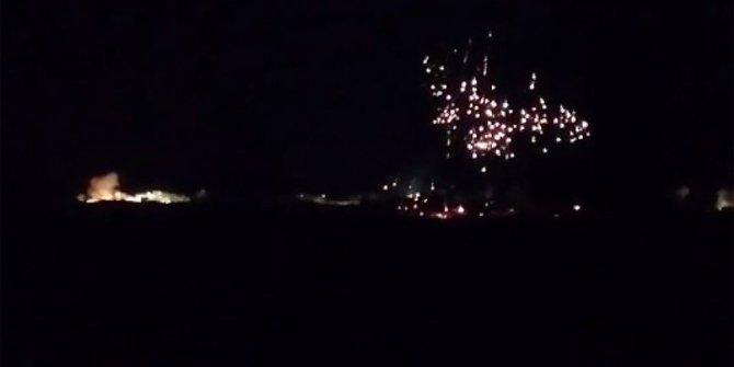 İdlib'de yine fosforlu saldırı