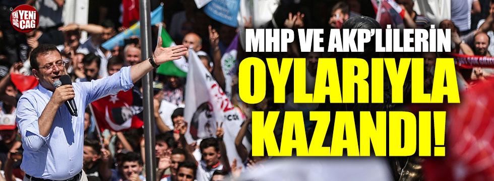 İmamoğlu MHP ve AKP oylarıyla kazandı