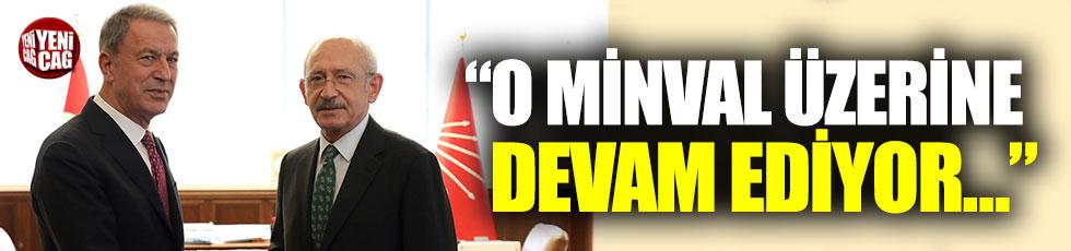Bakan Akar'dan Kılıçdaroğlu'na ziyaret