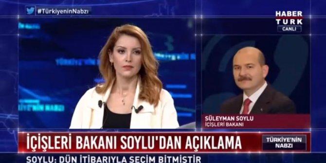 Nagehan Alçı ile Süleyman Soylu canlı yayında tartıştı