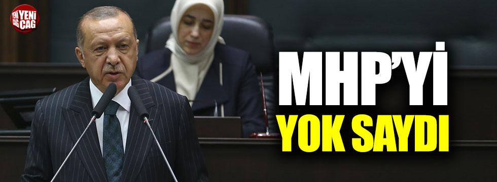 Erdoğan'dan MHP'yi yok sayan oy hesabı